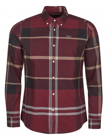 Chemise Barbour Iceloch Rouge d'hiver