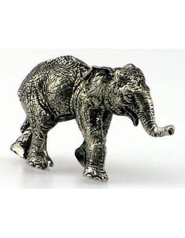 Eléphant en étain